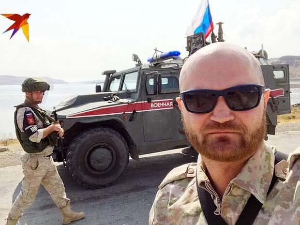 Наш спецкор Александр Коц передает с севера Сирии Фото: Александр КОЦ