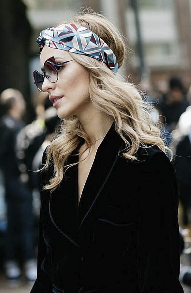 ТОП-5 способов носить косынки : пиковый тренд осени 2020