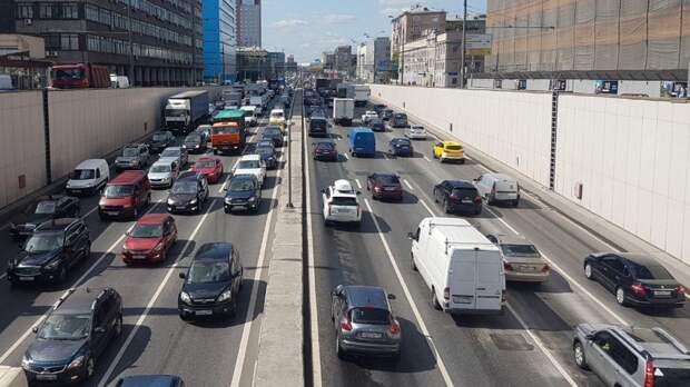 Движение транспорта по улице Красной Пресне восстановлено