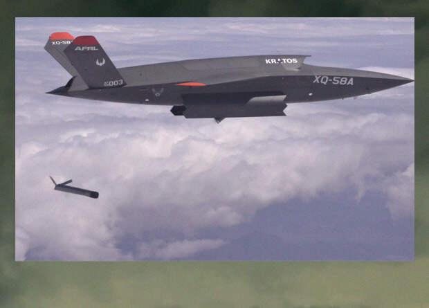 Беспилотный ведомый Valkyrie запустил в полете другой беспилотник