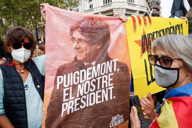 После ареста Пучдемона в Южной Европе начались массовые митинги