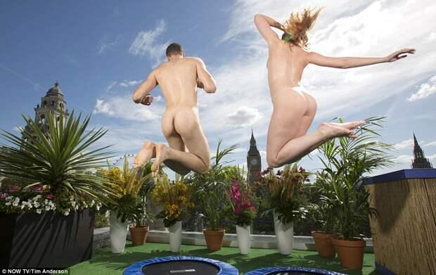 В Лондоне открывается терраса для нудистов, где посетителей ждут удивительные виды