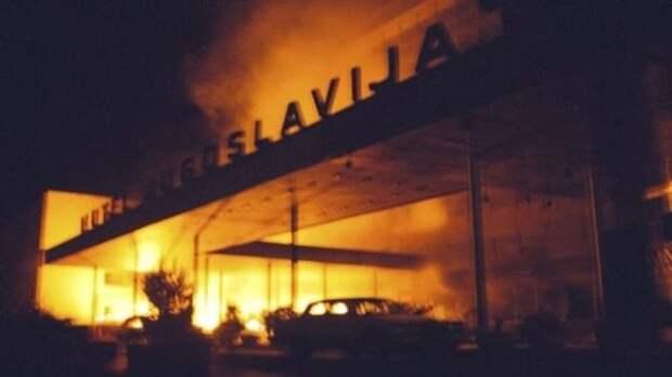 Президент Чехии извинился перед Сербией забомбардировки Югославии в1999 году