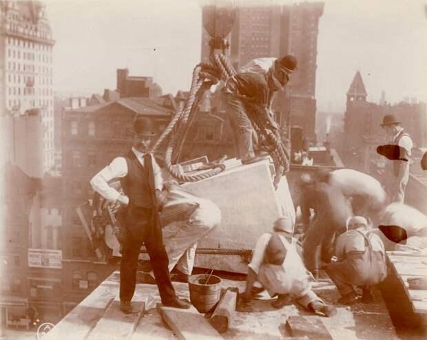 Как строился Нью-Йорк