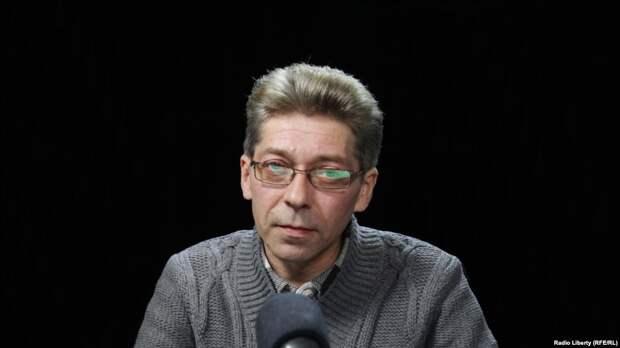 Журналист Александр Сотник