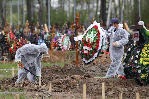 Смертность в январе в России значительно выросла