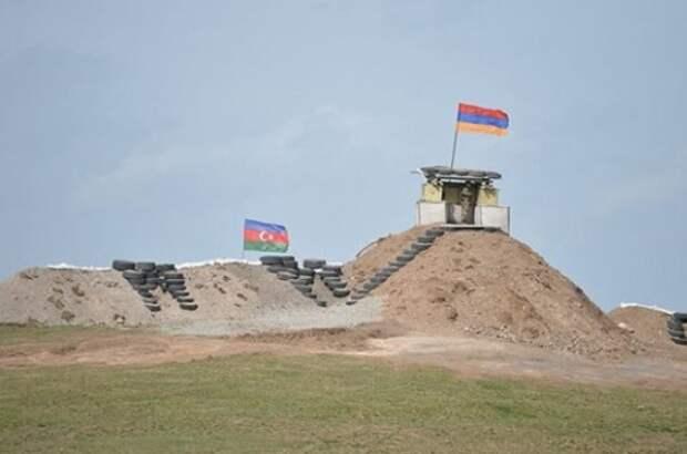 Провокация номер два: Азербайджан попытался продвинуть позиции наармянский Сисиан