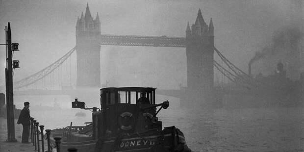 Туман, спустившийся на Лондон 5 декабря 1952 года, убил 12 тысяч человек
