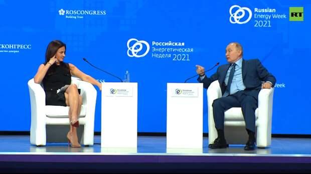 Ловушка для Путина? Как короткое платье американской журналистки обнажило лицемерие США