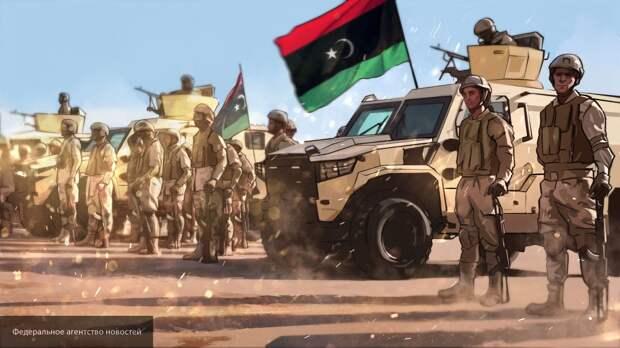Главнокомандующий ЛНА поблагодарил военнослужащих за прекрасную работу