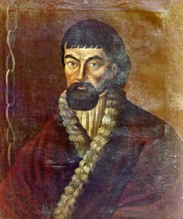 Портрет Емельяна Пугачева. Неизвестный художник