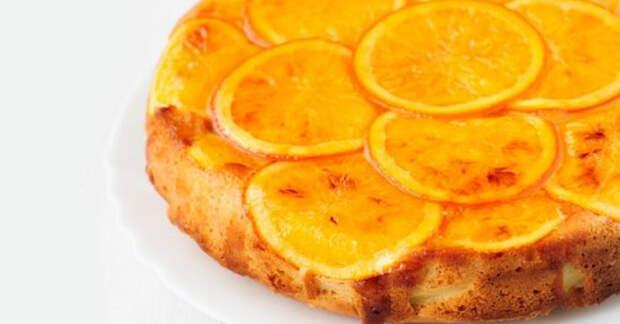 Апельсиновый пирог с полезными ингредиентами: вкусно и быстро!