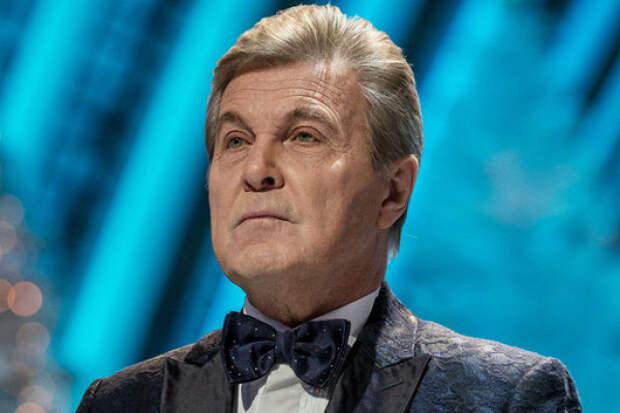 Лещенко отметил 79-летие вкомпании Баскова иКрутого