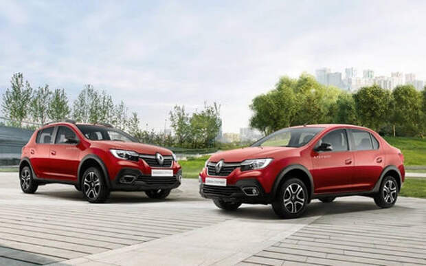 Названы самые популярные модели Renault в России