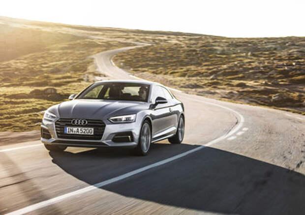Объявлены цены на купе Audi A5