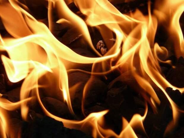 В доме на Башиловской произошел пожар