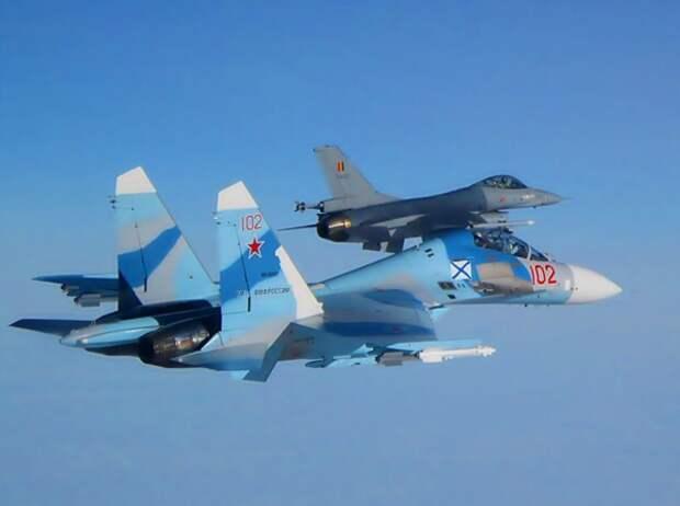 Авиация России в небе над Балтикой. Источник изображения: https://vk.com/denis_siniy