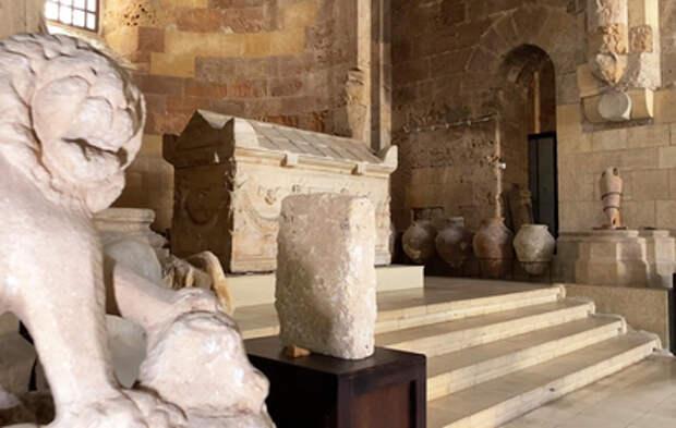 В Сирии возобновил работу национальный музей Тартуса