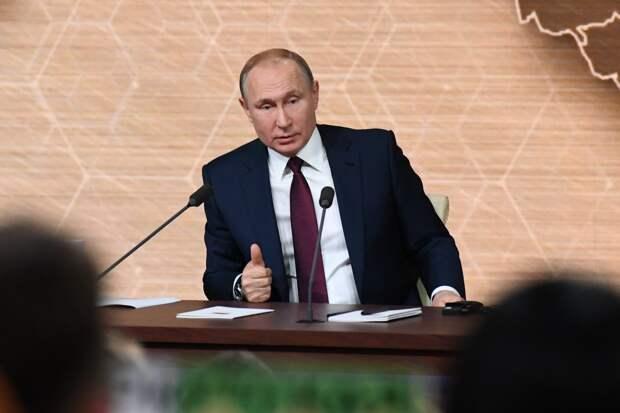 Владимир Путин: российская экономика игнорирует американские санкции