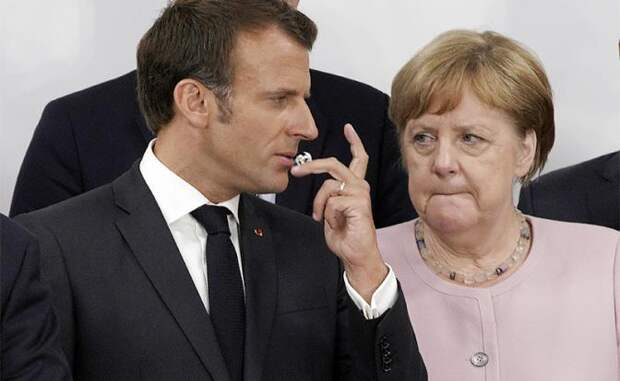 Прибалтика и Польша поставили Макрона и Меркель на место