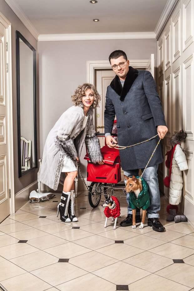 Кристина Асмус и Гарик Харламов делят дом