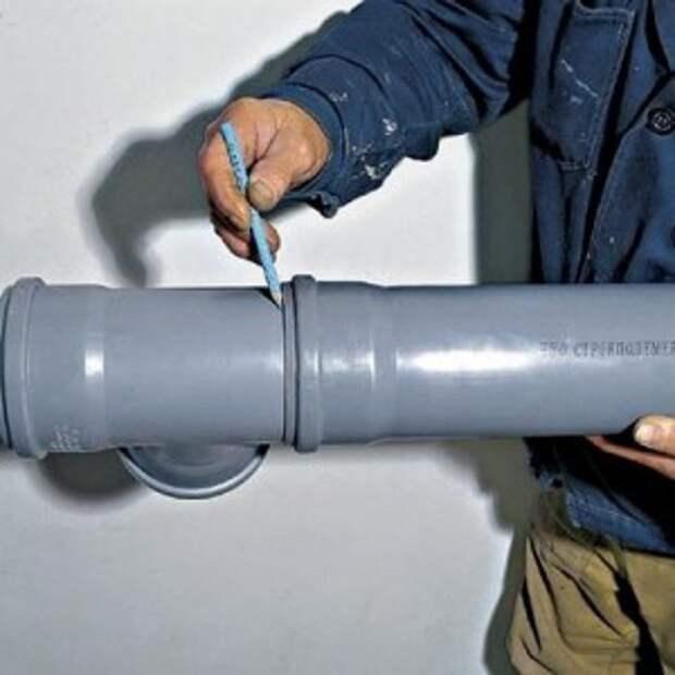 Картинки по запросу Заменяем часть пластиковой трубы