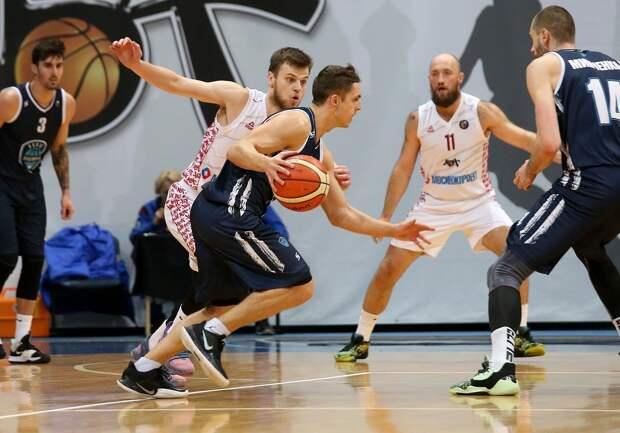 Ижевские баскетболисты «Купол-Родников» уступили соперникам на выезде в Москве