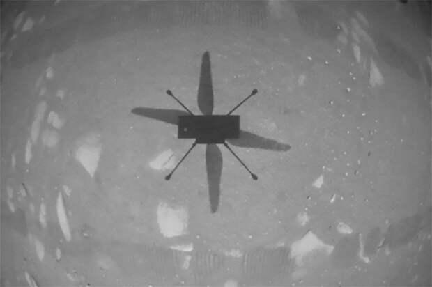 Вертолет NASA впервые совершил полет на Марсе