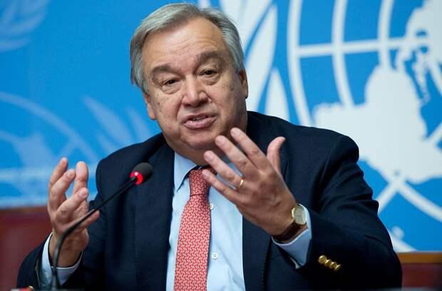 Генсек ООН заявил о выходе из-под контроля ситуации в Афганистане