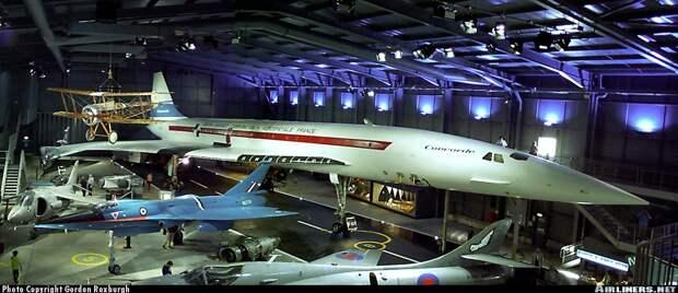 50 лет первому полету Конкорда