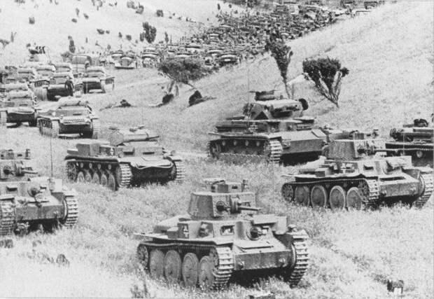 Май 1941 года. Где же немецкие танки и мотопехота?