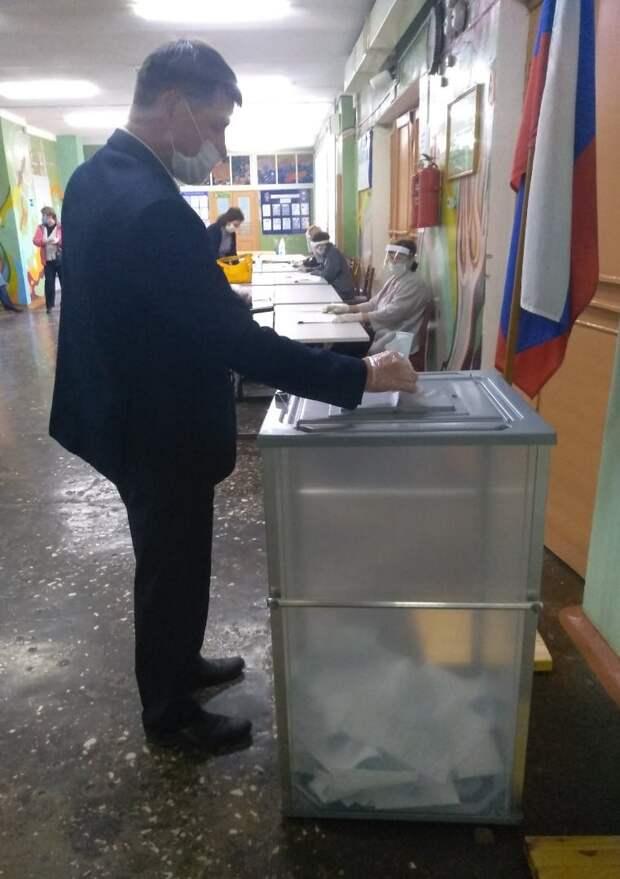 Предварительные данные голосования в Удмуртии: 68,92% избирателей поддержали поправки в Конституцию