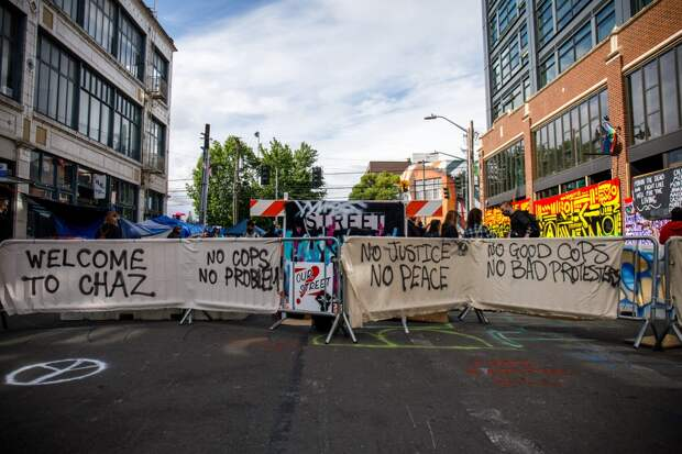 Полиция зачистила от протестующих «Автономную зону» в центре Сиэтла