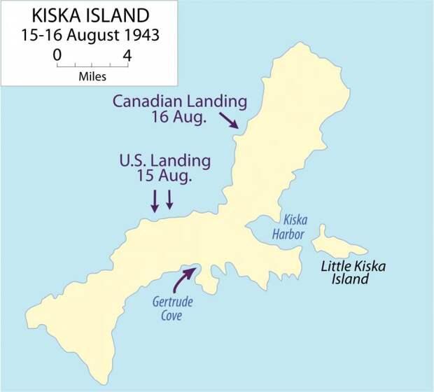 Идеальный шторм на Алеутских островах. Операция Cottage