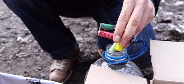 На улице Академика Бочвара принимают батарейки и крышки на переработку