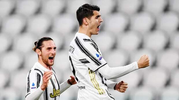 Дубль Мораты позволил «Ювентусу» одержать волевую победу над «Лацио»