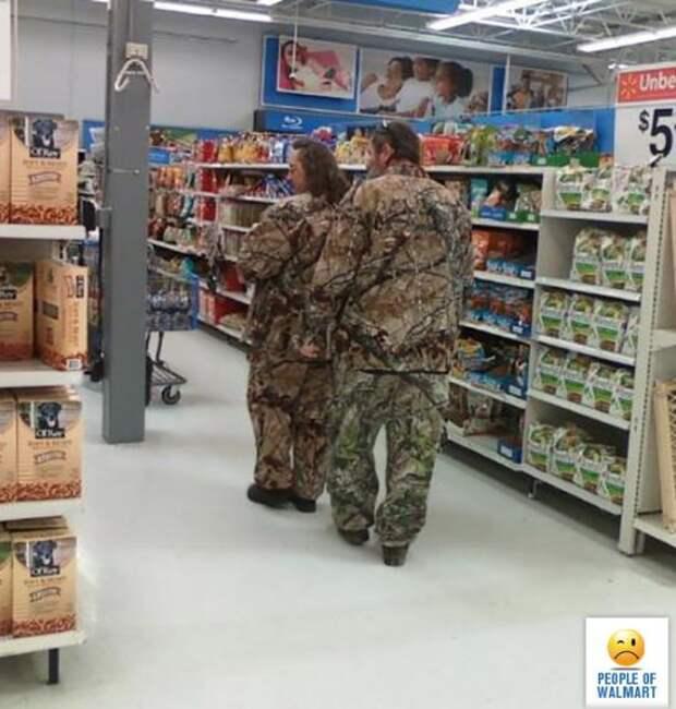 Странные и смешные люди из супермаркетов (40 фото)