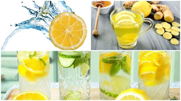 Лимонно-медовый детокс