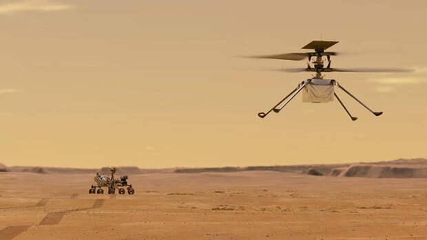NASA впервые запустит вертолет на Марсе