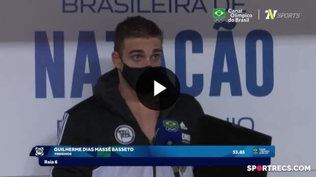 Guilherme Basseto e Guilherme Guido falam sobre a classificação e recebem o Passaporte Olímpico (20/04/2021)