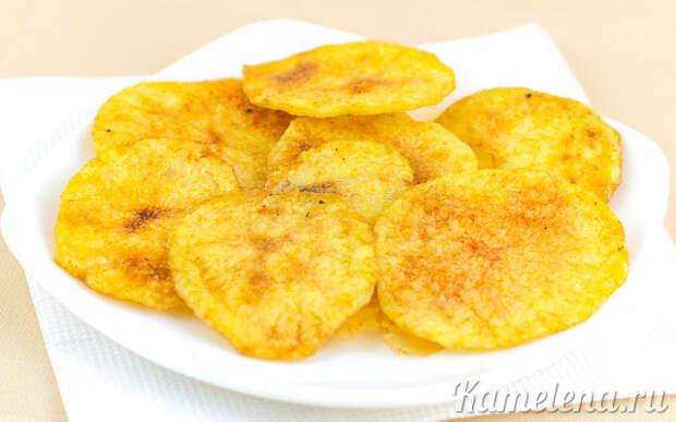 Картофельные чипсы — 6 шаг