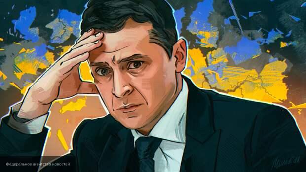 Зеленский обвинил Запад в экономическом упадке Украины