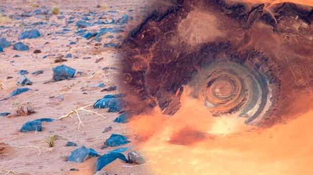 Око Сахары, она же - структура Ришат
