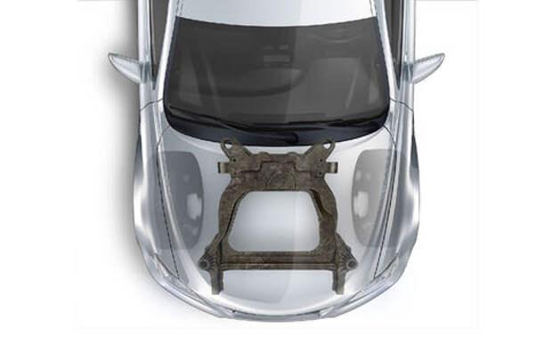 Magna разработала для автомобилей Ford карбоновые подрамники