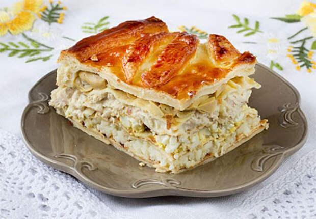 Кулебяка - Просто и вкусно