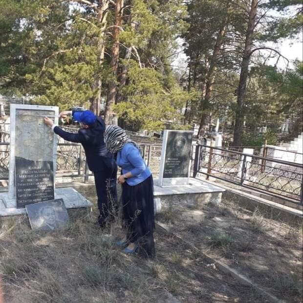 По факту осквернения могилы автора текста первого гимна КазССР начато расследование