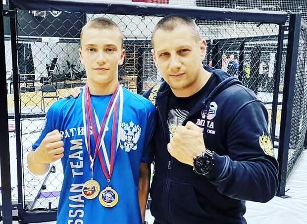 Юный спортсмен из Куркина стал чемпионом России по ММА