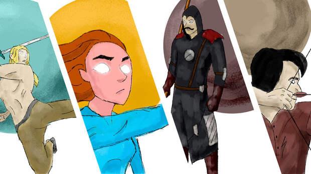 4 российских супергероя покруче Бэтмена и Железного человека