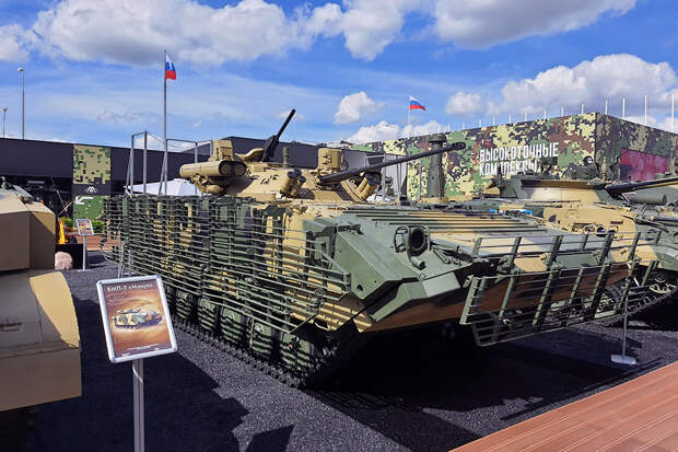 Новую версию БМП-2М представили на форуме «Армия-2020»