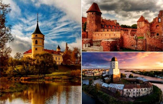 12 древних (и не очень) замков, которые можно увидеть в России